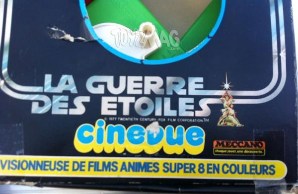 Cinevue Meccano Star Wars La guerre des étoiles
