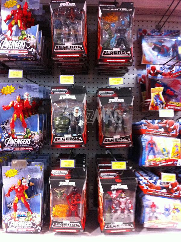 Hasbro Spider-Man Marvel Legends infinity series Spider-Man