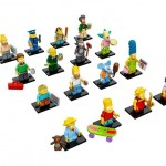 LEGO les images des Minifigurines The Simpsons