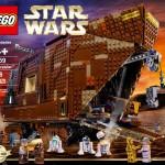 Lego Star Wars : Le Sandcrawler (75059) en images