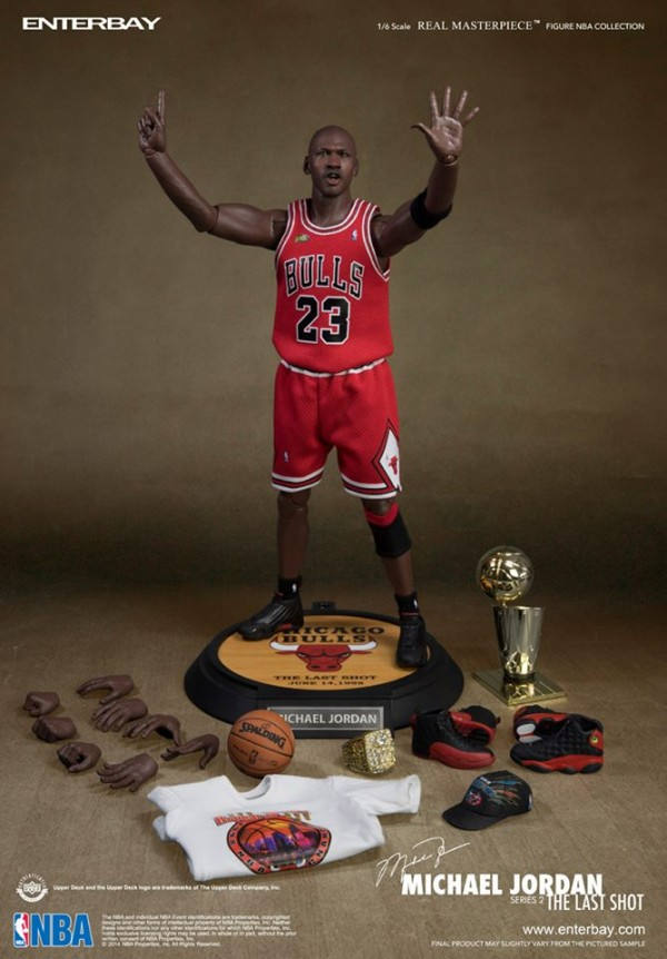michael jordan enterbay series 0