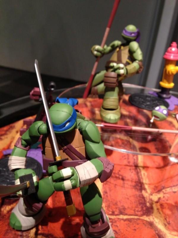 revoltech TMNT tortues ninja