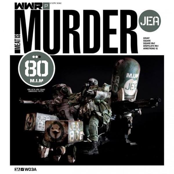 threeA wwr jea meat is murder set