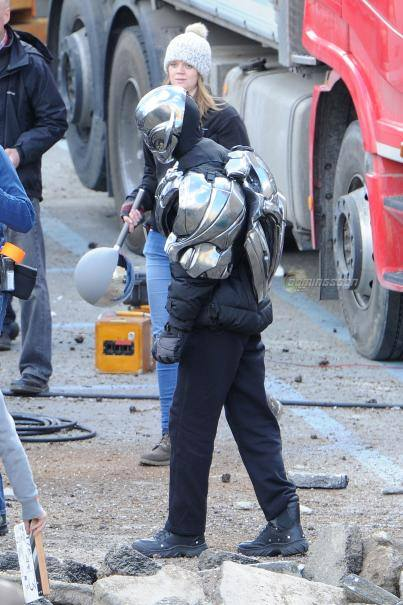 ultron avengers tournage