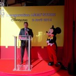 Inauguration du Lego Store Disney Village