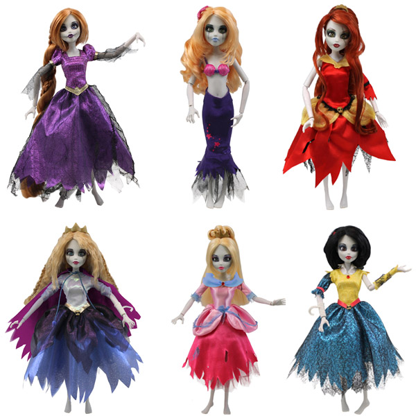 princesses zombies / Once Upon a Zombie /famosa