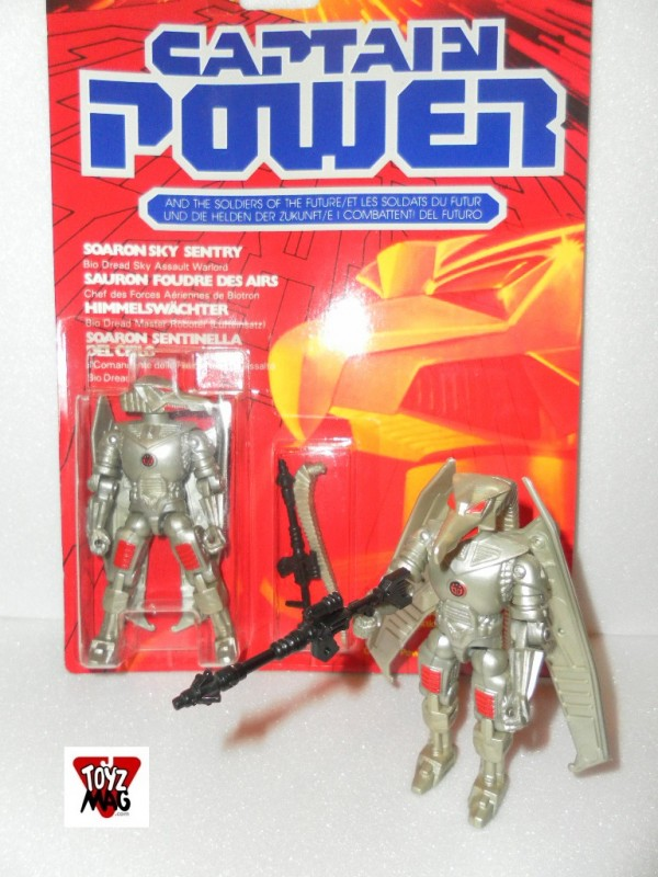 Instant Vintage Soaron Captain Power (Mattel 1987)