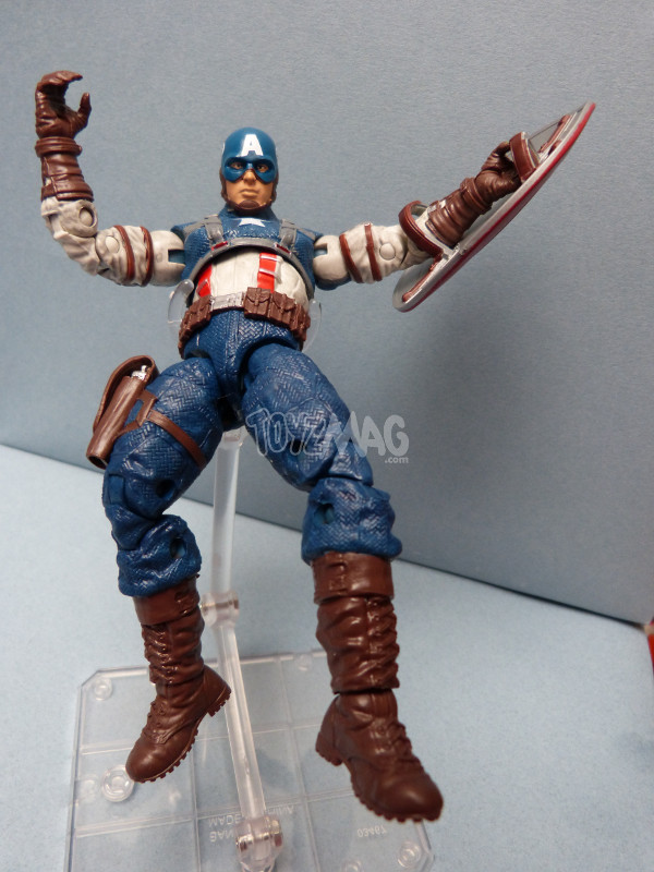 WW2 captain america marvel legends infinite 16