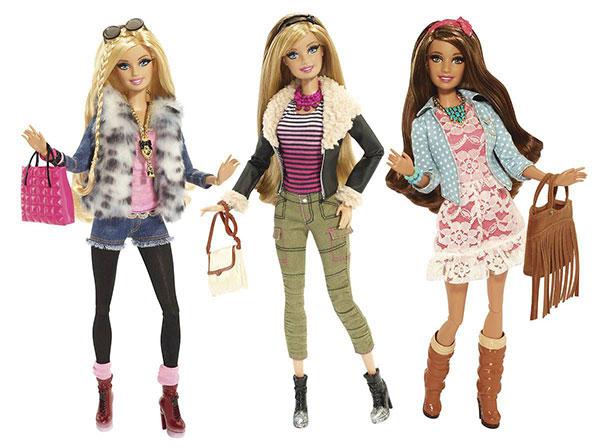 Le 1er dressing virtuel Barbie