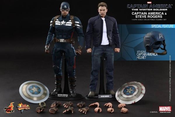 captain america steve rogers hot toys