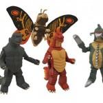 Godzilla Classic Minimates Series 1 Box Set