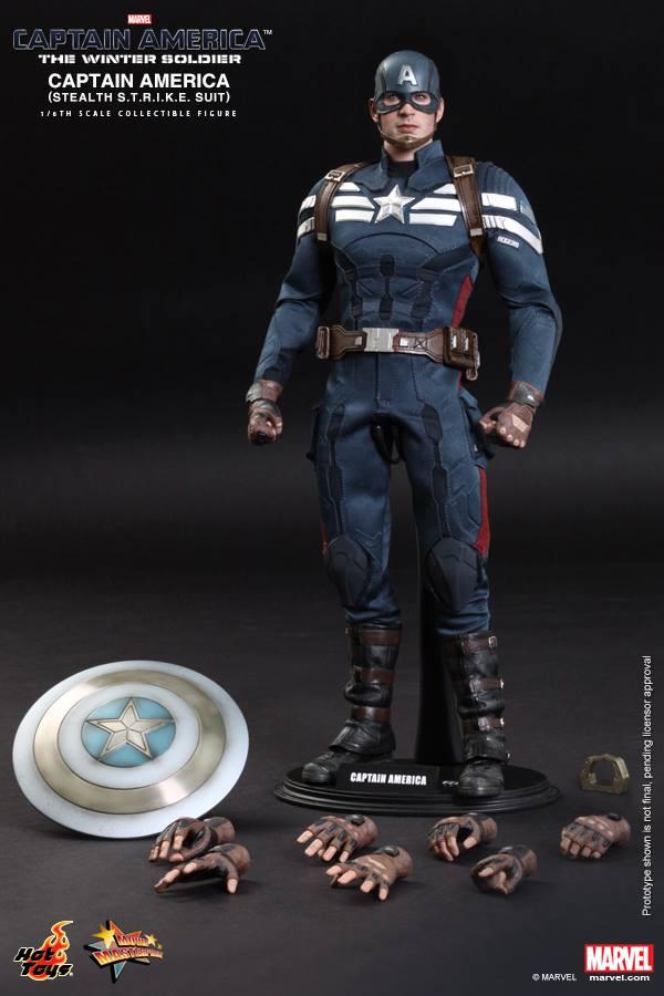 hot toys captain america strike 16
