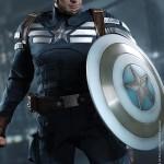 hot toys captain america strike 3