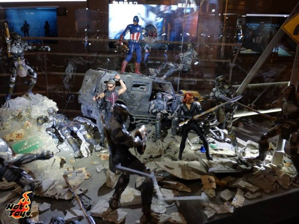 hot toys diorama captain america 6