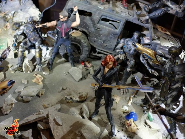 hot toys diorama captain america 7