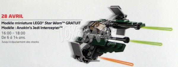 30244 Anakin's Jedi Intercepter.