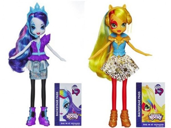 raritu apple jack MLP equestira girls Rinbow Rock série 4