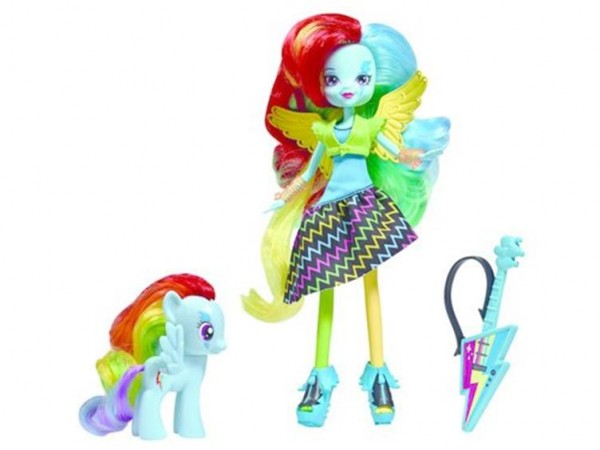 Rainbow Dash DJ PON3 PINKIE PIE MLP equestira girls Rainbow Rock série 4