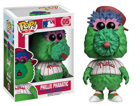 phillie phanatic funko pop