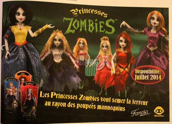 princesses zombies / Once Upon a Zombie / famosa
