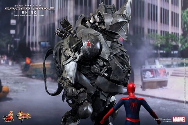 rhino hot toys The amazing Spider-Man 2