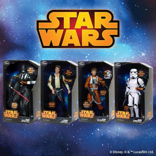 starwars disneystore  figurines parlantes