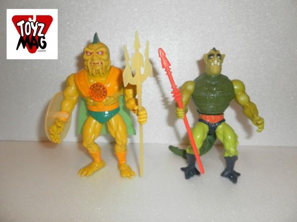 Instant Vintage Whiplash Lezor maitres de l'univers (Mattel 1984)