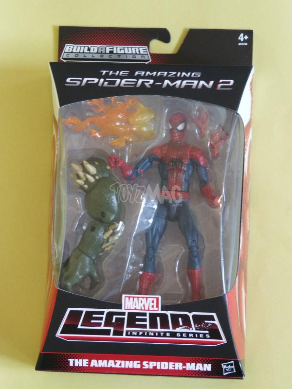 amazing spider-man 2 Marvel legends 1