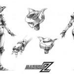 ThreeZero met Aphrodite A à la sauce Mazinger Z