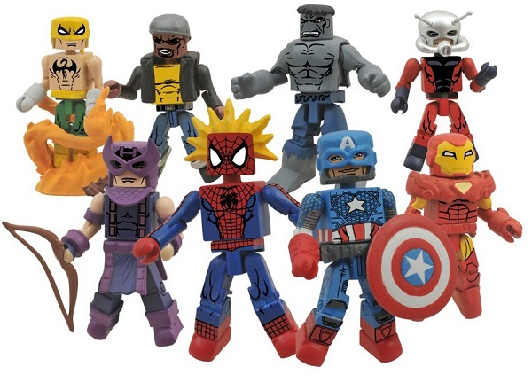 best of 3 marvel minimates
