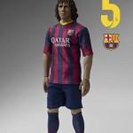 Foot : Puyol du FC Barcelone par ZC World