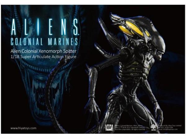hiya aliens spitter
