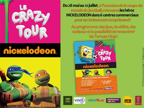 Crazy tour Nickelodeon