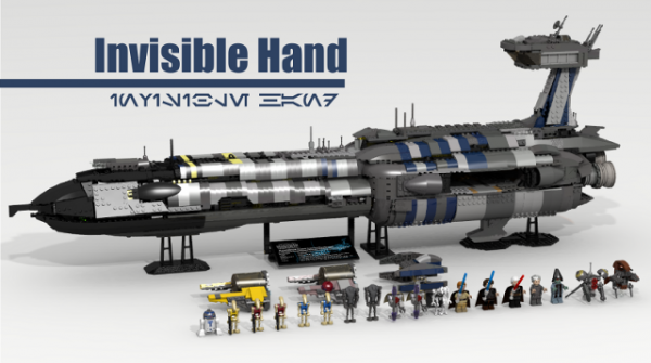 invisible hand lego cuusoo