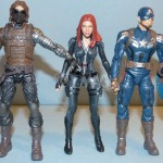marvel legends black widow captain america 47