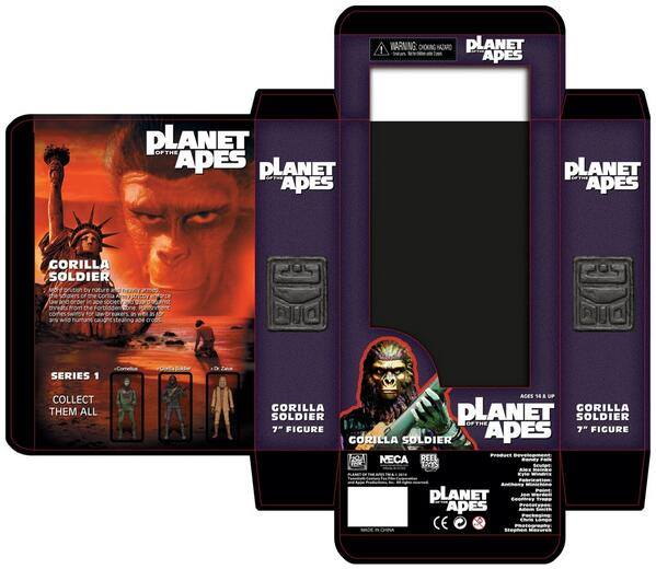 neca packaging planete des singes