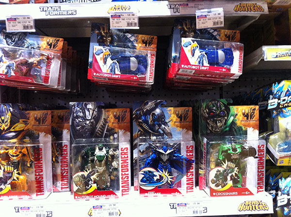 Transformers 4 - Les jouets  Hasbro