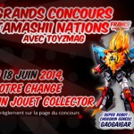 Concours Tamashii Nations France – Super Robot Chogokin Genesic Gaogaigar