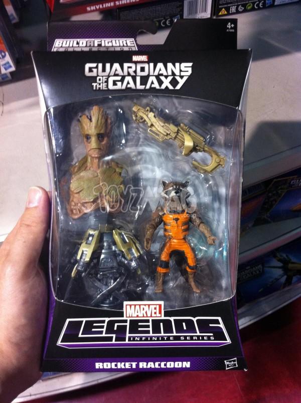 Gardiens de la galaxie Guardians Of The Galaxy jouets figurines Rocket Ranccon