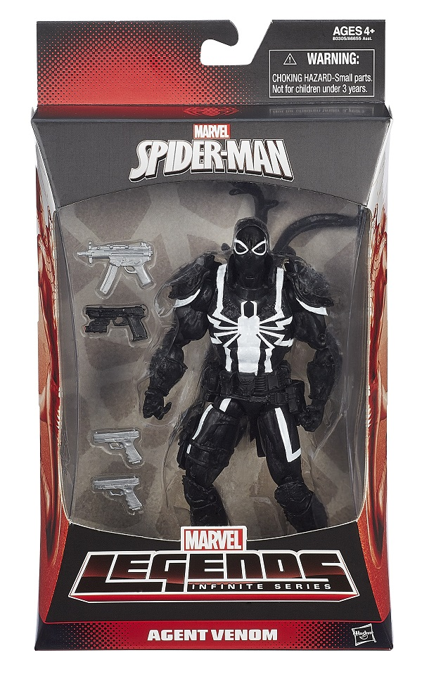 Hasbro Legends Infinite 6-inch Agent Venom_pkg x600