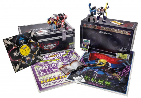 Hasbro SDCC 2014 30th Ann Tour Edition set