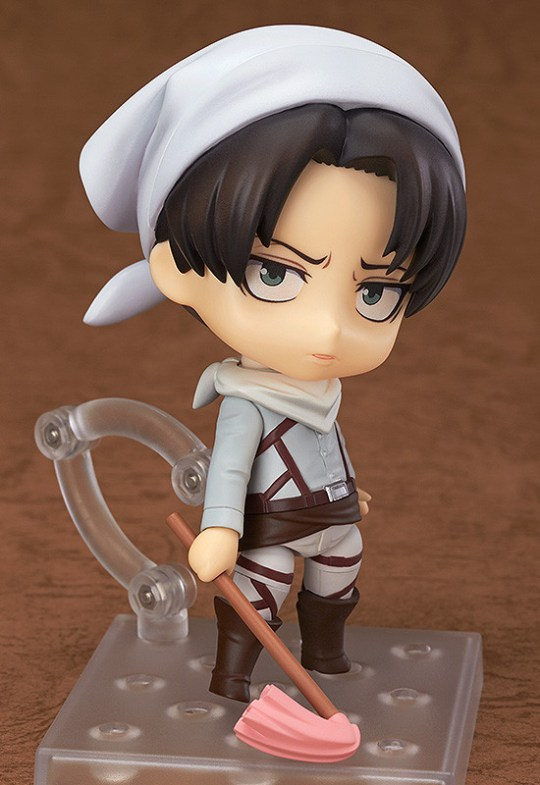 NendoroidLeviCleaning Ver