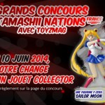 Concours Tamashii Nations France – Sailor Moon