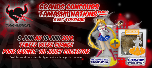 concours Tamashii Nations Sailor Moon