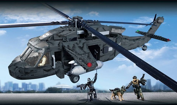 blackhawk mega bloks call of duty