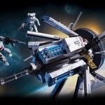 Call of Duty Mega Bloks : ODIN Space Station Strike & Ghosts Tactical Helicopter