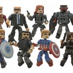 Captain America The Winter Soldier : les Minimates débarquent
