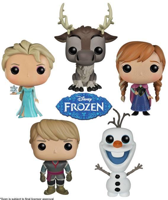funko disney pop La Reine des Neiges Frozen