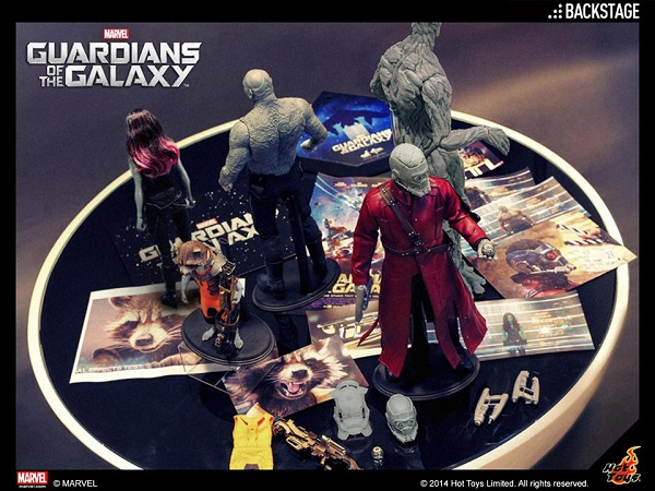 guardians of the galaxy hot toys