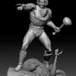 Du nouveau pour la statue du Maître d'Armes
